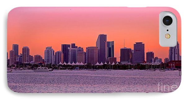 IPhone Case featuring the photograph Miami Metro by Judy Kay
