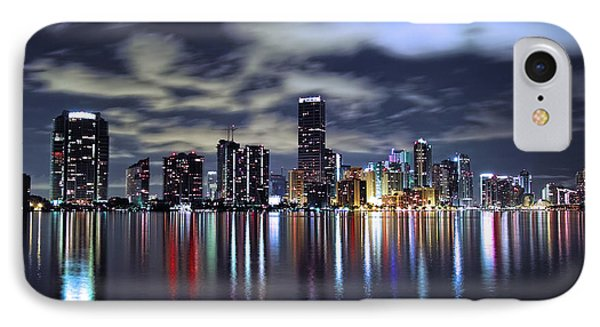 Miami Skyline Phone Case by Gary Dean Mercer Clark