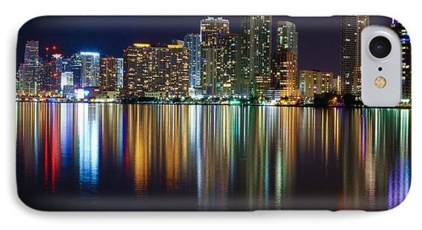Miami Skyline IIi High Res Phone Case by Rene Triay Photography