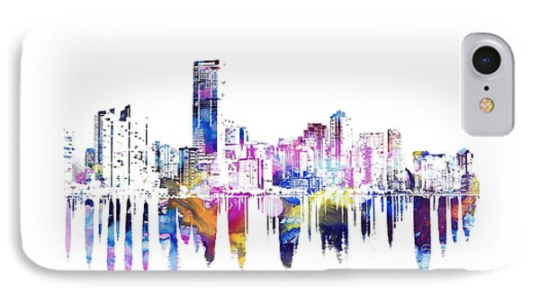 Miami Skyline IPhone Case by Doc Braham