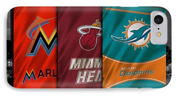 Miami Sports Teams IPhone Case
