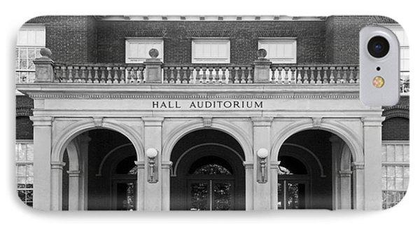 Miami University Hall Auditorium IPhone Case by University Icons