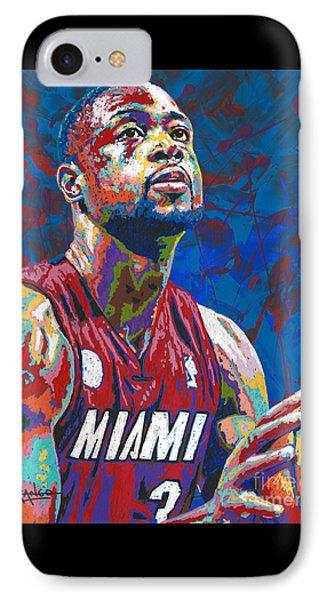 Miami Wade IPhone Case by Maria Arango