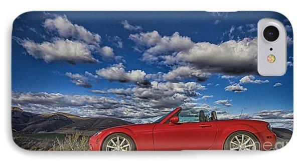 IPhone Case featuring the photograph Miata by Jason Abando