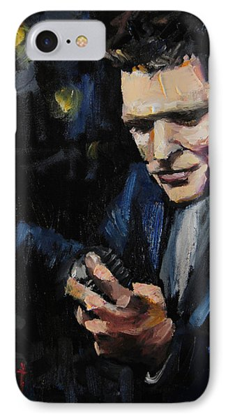 Michael Buble IPhone Case by Carole Foret