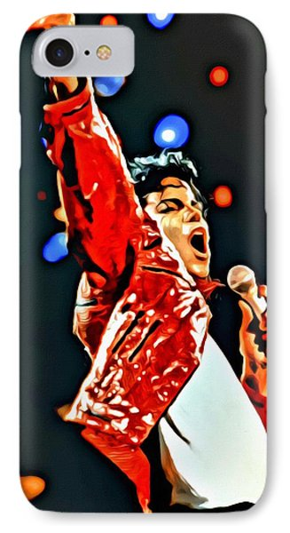 Michael IPhone Case by Florian Rodarte