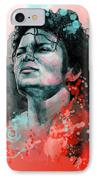 Michael Jackson 13 IPhone Case