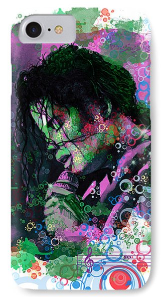 Michael Jackson 16 IPhone Case