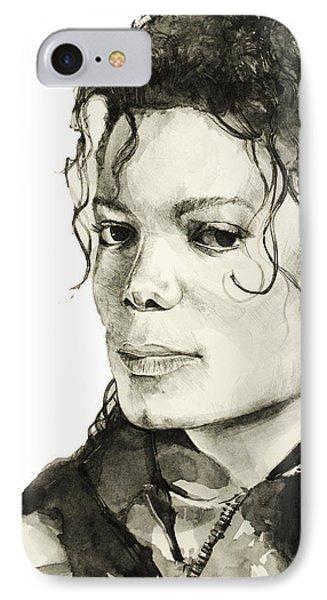 Michael Jackson 6 IPhone Case by Bekim Art