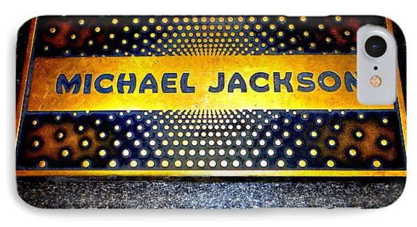 Michael Jackson Apollo Walk Of Fame IPhone Case by Ed Weidman
