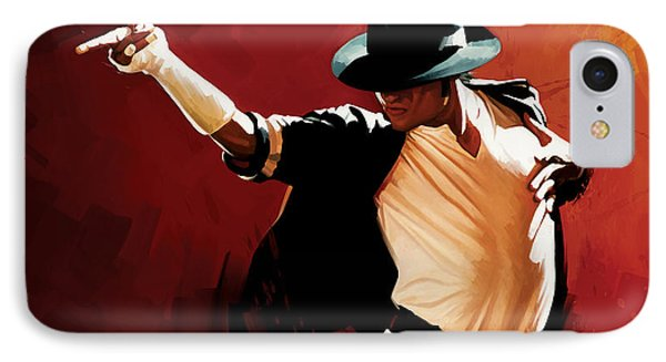 Michael Jackson Artwork 4 IPhone 7 Case by Sheraz A