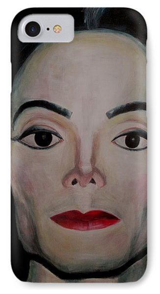 Michael Jackson Phone Case by Maria Mimi