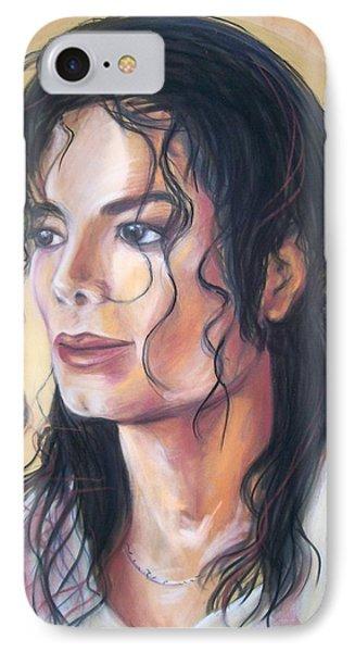 Michael Jackson IPhone Case by Martha Suhocke