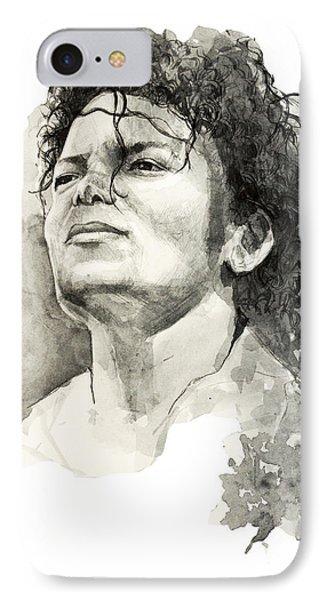 Michael Jackson IPhone Case by Bekim Art