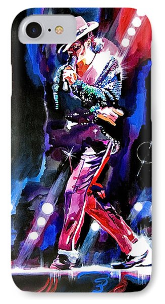 Michael Jackson Moves IPhone Case by David Lloyd Glover