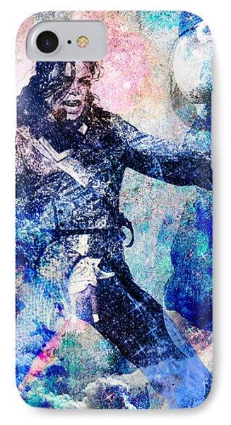 Michael Jackson Original Painting  IPhone Case by Ryan Rock Artist