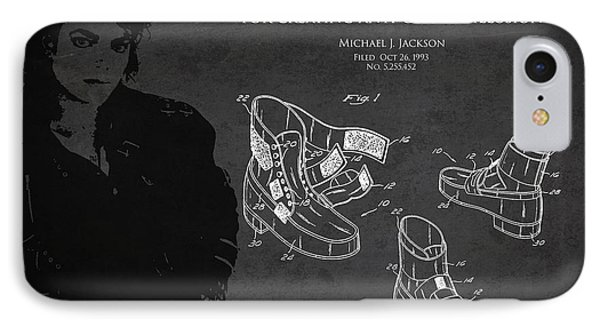 Michael Jackson Patent IPhone Case by Aged Pixel