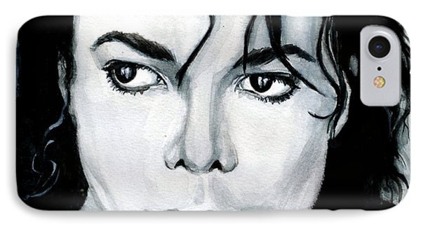 Michael Jackson Portrait IPhone Case