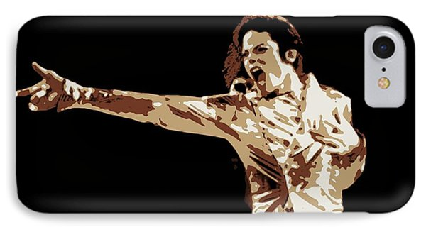 Michael Jackson Poster Art IPhone Case