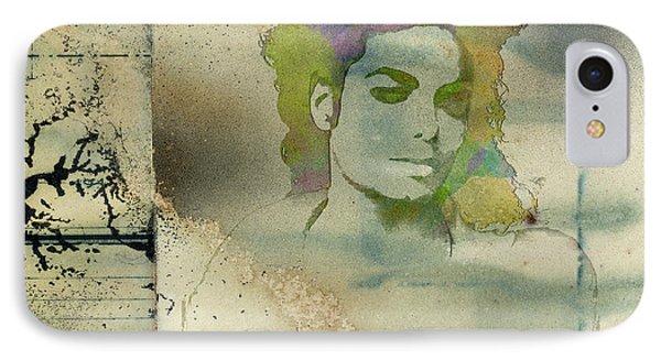 Michael Jackson Silhouette IPhone Case
