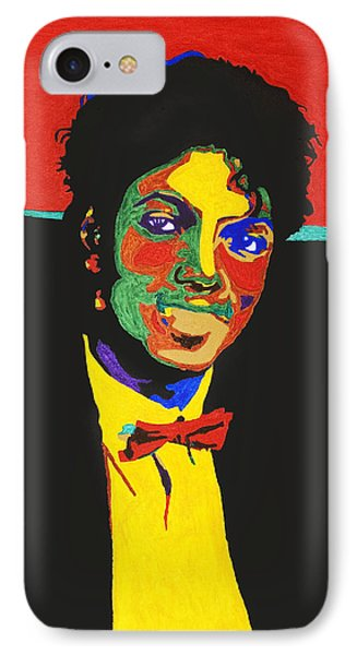 Michael Jackson IPhone Case by Stormm Bradshaw