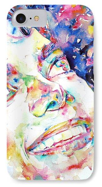 Michael Jackson - Watercolor Portrait.13 IPhone Case