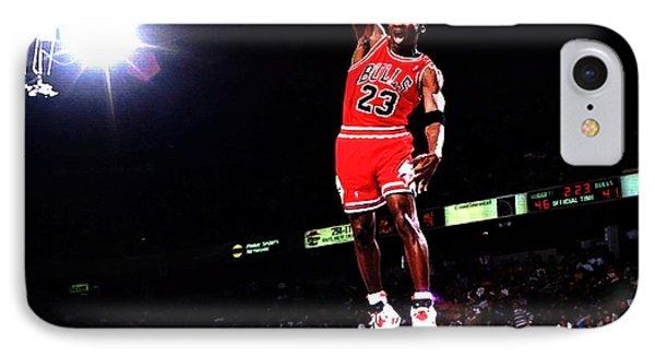 Michael Jordan Fast Break IPhone Case