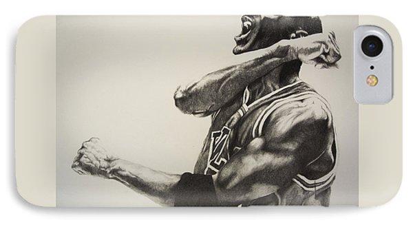 Michael Jordan Phone Case by Jake Stapleton