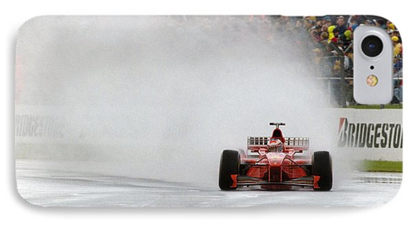 Michael Schumacher Rainmaster Phone Case by Gary Doak