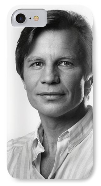 IPhone Case featuring the photograph Michael York by Mark Greenberg