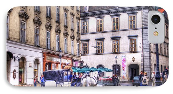 Michaelerplatz. Vienna IPhone Case by Juli Scalzi