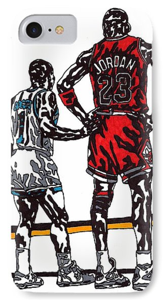 Micheal Jordan 1 Phone Case by Jeremiah Colley