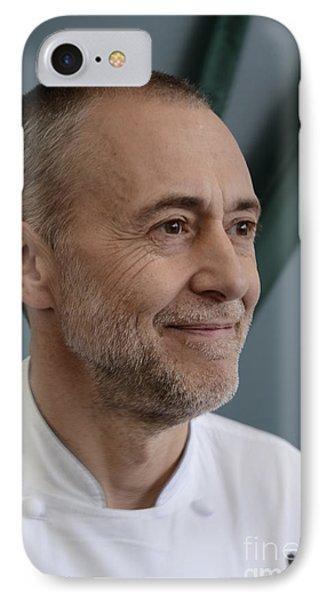 Michel Roux Jr. Phone Case by CandyAppleRed Images