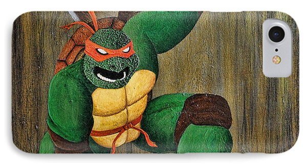 Michelangelo IPhone Case by Mike Caron