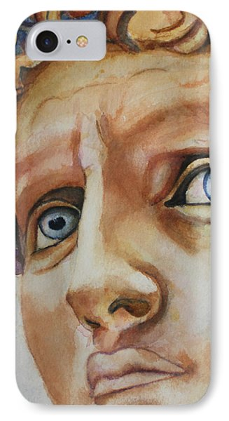 Michelangelo's David In Color IPhone Case
