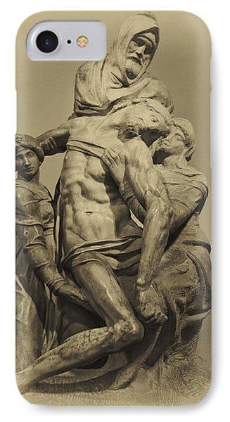 Michelangelo's Florence Pieta IPhone Case