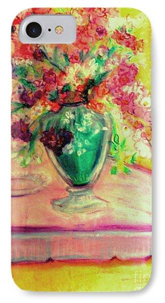 Michelangelo's Vase Phone Case by Helena Bebirian