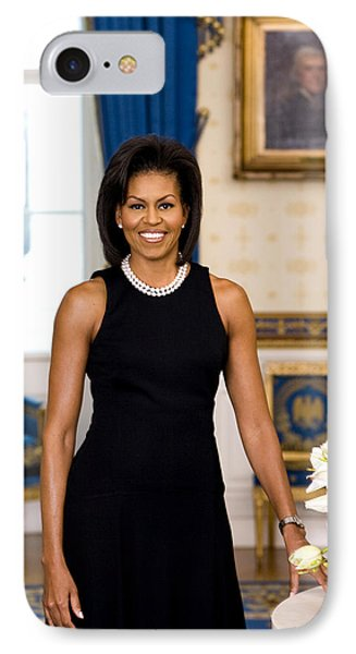 Michelle Obama IPhone Case by Official White House Photo
