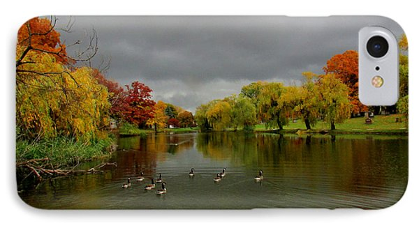 Michigan Autumn IPhone Case by Michael Rucker