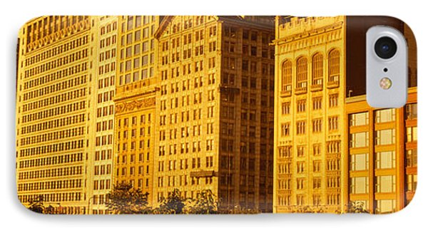 Michigan Avenue Architecture, Chicago IPhone Case by Panoramic Images
