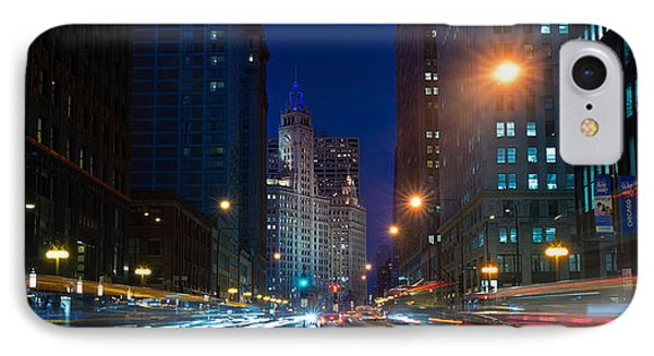 Michigan Avenue Chicago Phone Case by Steve Gadomski