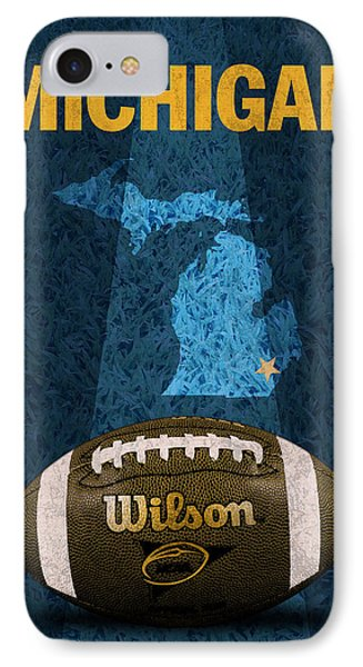 Michigan Football Poster IPhone Case