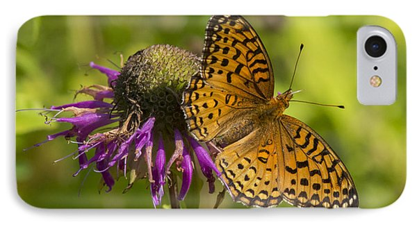 Michigan Fritillary IPhone Case