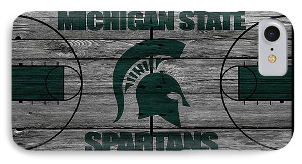 Michigan State Spartans IPhone 7 Case by Joe Hamilton