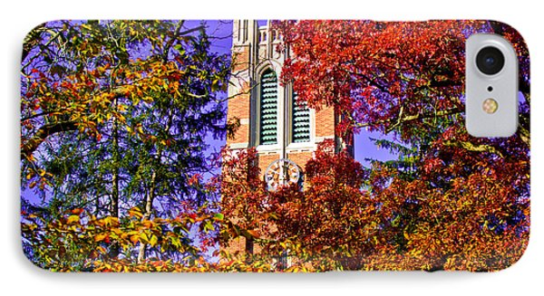 Michigan State University Beaumont Tower IPhone Case by John McGraw