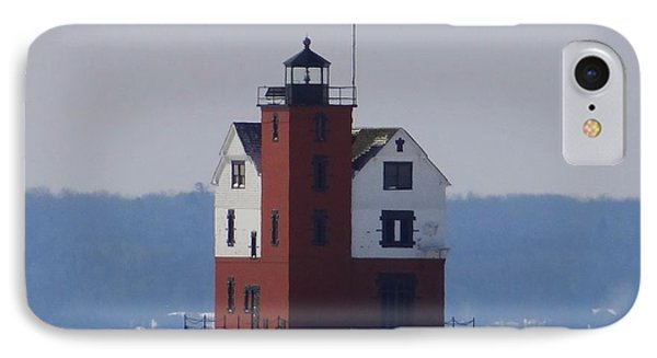 Michigan's Round Island Lighthouse IPhone Case