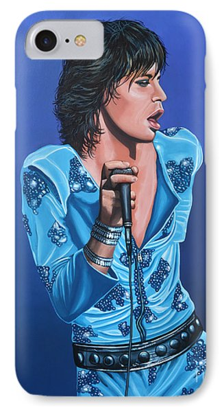 Mick Jagger IPhone Case by Paul Meijering