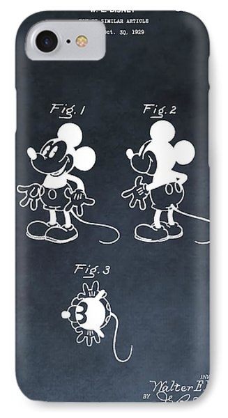 Mickey Mouse IPhone Case by Dan Sproul