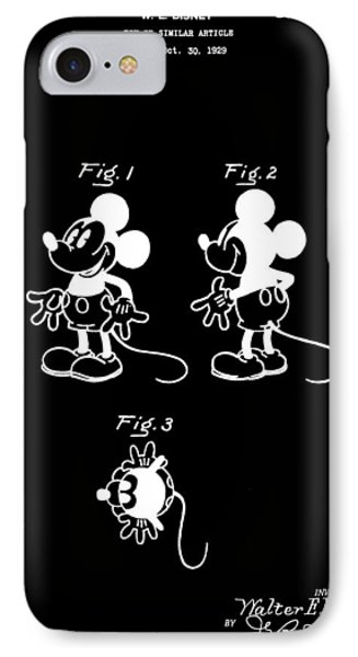 Mickey Mouse Design IPhone Case by Dan Sproul