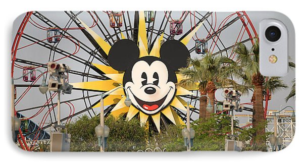 IPhone Case featuring the photograph Mickey Mouse Wheel by Michael Albright